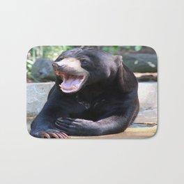 smiling bear  Bath Mat
