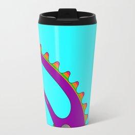 Psychedeli-Cat Chainring Travel Mug