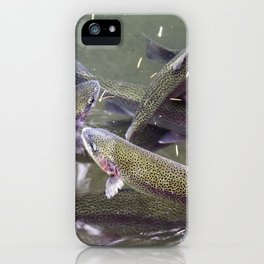 Growing up Trout iPhone Case