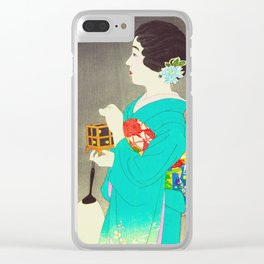 Mushikago - Insect Cage - Japanese Art Clear iPhone Case