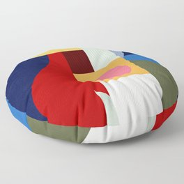 Geometric Art XV Floor Pillow