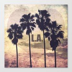 L.A. Love Canvas Print
