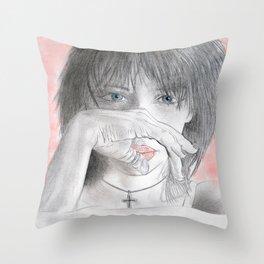 Alex closeup Throw Pillow