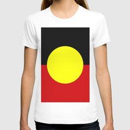 Flag of the australian Aboriginal T-shirt