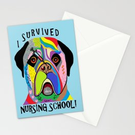 I Survived Nursing School Stationery Cards