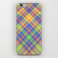 plaid iPhone & iPod Skins featuring Plaid by Lyle Hatch