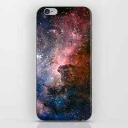 Carina Nebula's Hidden Secrets iPhone Skin