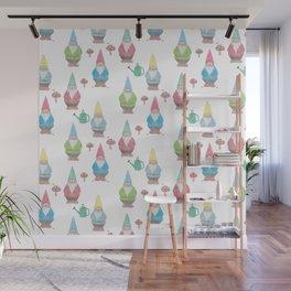Garden Gnomes Wall Mural
