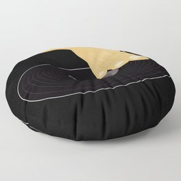 Dj Scratch Floor Pillow