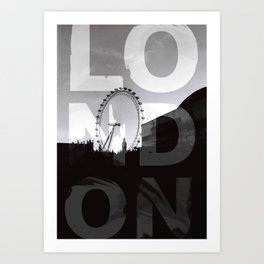 London NO1 Art Print