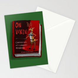 On Vixen: Confessions of a Naughty Reindeer Stationery Cards