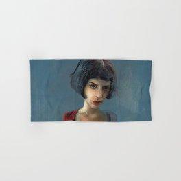 Amelie Poulain Hand & Bath Towel