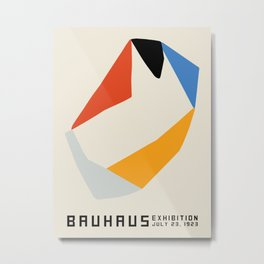 Vintage poster-Bauhaus Exhibition July 23, 1923. Metal Print