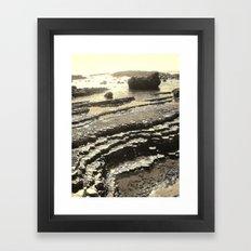 Walking on the Moon Framed Art Print