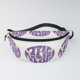 The Groovy Moon - Purple Palette Fanny Pack