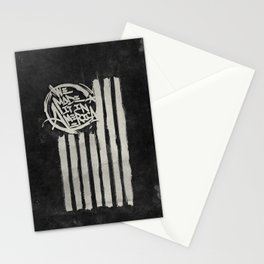 We Made it in America (Black) Stationery Cards