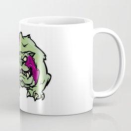 Zombie Dog - English Bulldog Halloween Horror Coffee Mug