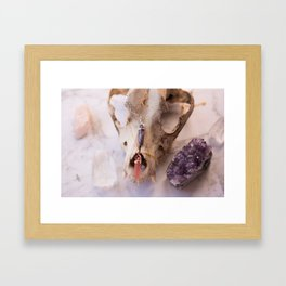 Crystallised Framed Art Print