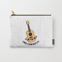 Uke Can Do It Cute Positive Ukelele Music Pun Carry-All Pouch
