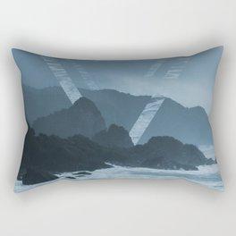 New Zealand Coast Rectangular Pillow