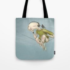 Up here with you Tote Bag