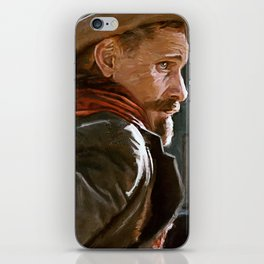 The Gunslinger - The Cowboy - The Dead iPhone Skin