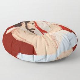 Sleeping In Floor Pillow
