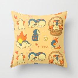 Quils! Throw Pillow