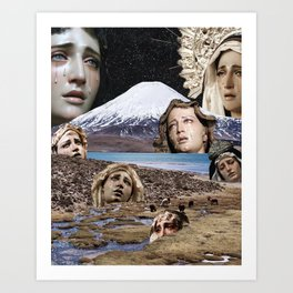 By That Sin Fell The Angels Art Print