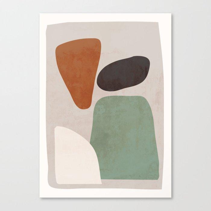Abstract Shapes 12 Canvas Print