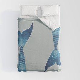 mermaid tail #*space* Duvet Cover