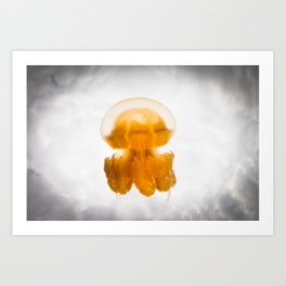 Jelly in the Clouds Art Print