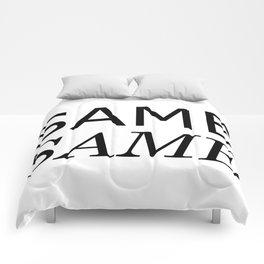 Same Same but Different Comforters