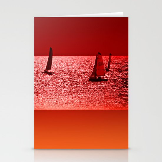 Autumn Ocean 2 Stationery Cards