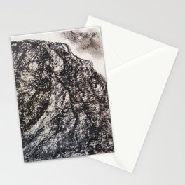 Grey Moutain by Gerlinde Streit Stationery Cards