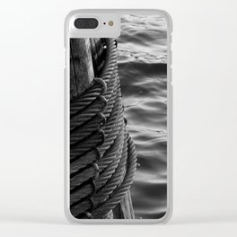 liquid cable Clear iPhone Case