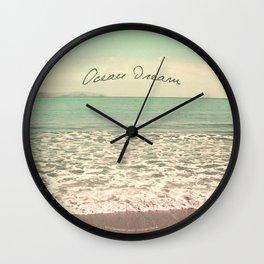 Ocean Dream I Wall Clock