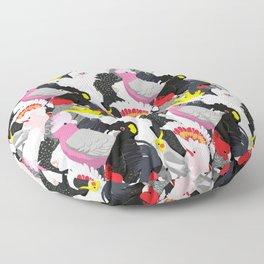 Cockatoo Fest Floor Pillow