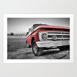 Truck Series 1 Art Print