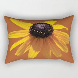Rudbeckia Orange Rectangular Pillow