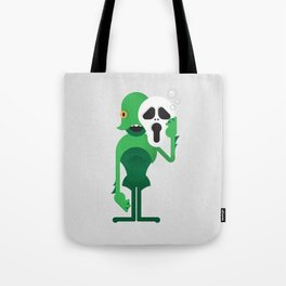 Swamp Thing / Ghostface Tote Bag