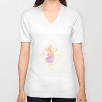 legend of zelda V-neck T-shirts featuring Zelda by ShikaJoy