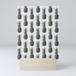 Pineapple Pattern 01 Mini Art Print