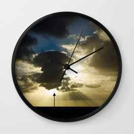 Sunset in Gran Canaria Wall Clock