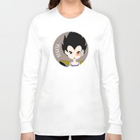 vegeta Long Sleeve T-shirts featuring Vegeta by gaps81