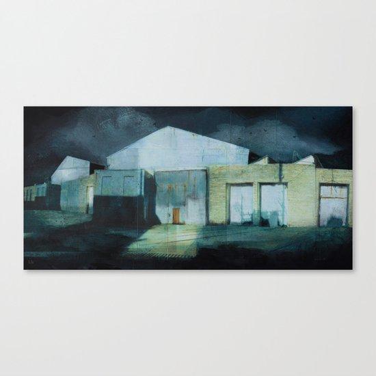 Beyond the Tracks Canvas Print