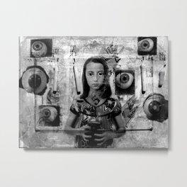 Eyelid Metal Print