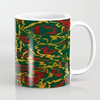 rasta Mugs featuring Rasta Time... by Cherie DeBevoise