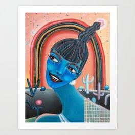 Starla Art Print