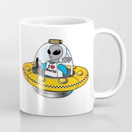 Alien Taxi Coffee Mug